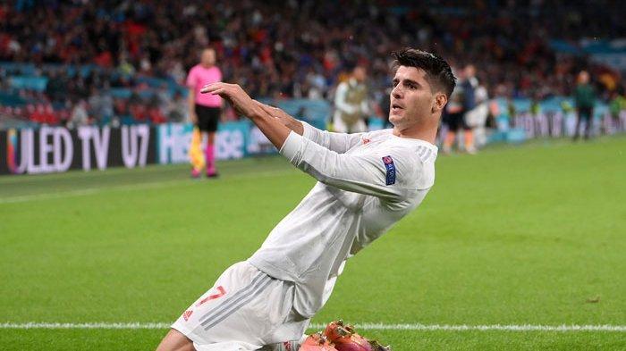 Striker Juventus, Alvaro Morata bakal absen bela Spanyol saat melawan Italia