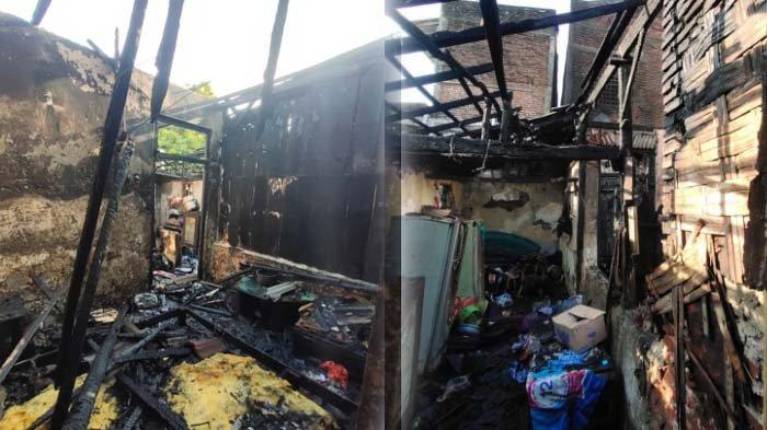 Sering Cekcok Rumah Tangga, Suami di Surabaya Nekat Bakar Rumah. Begini Nasib Istri dan 2 Anaknya