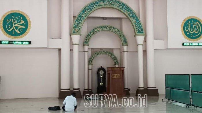 Jamaah Masjid An Nur Pare Kediri Diimbau Taat Protokol Kesehatan Saat Melaksanakan Tarawih