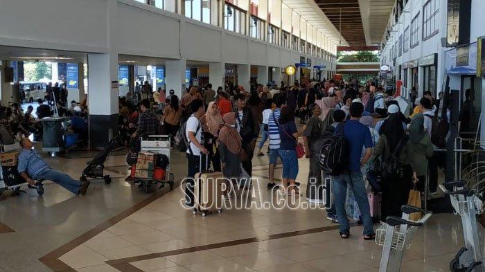 Arus Balik Lebaran 2019, Jumlah Penumpang Pesawat di Bandara Juanda Alami Penurunan