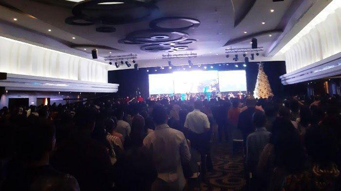 Tiberias Indonesia Rayakan Natal bersama 3.000 Jamaat di Tunjungan Plaza Surabaya