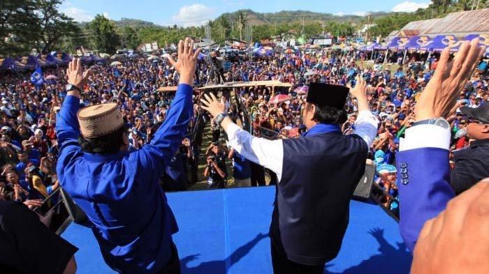 Partai NasDem Optimistis Masuk Tiga Besar, Seminggu Surya Paloh Kampanye Akbar di Sulawesi