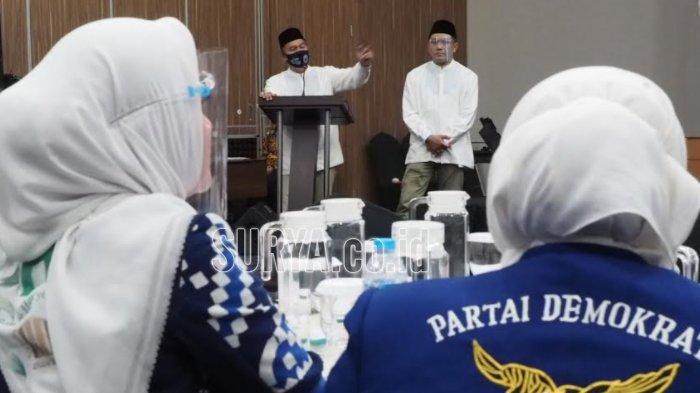 Pilbup Sidoarjo 2020, Kader Partai Demokrat Banyak yang Jadi Relawan BHS-Taufiqulbar