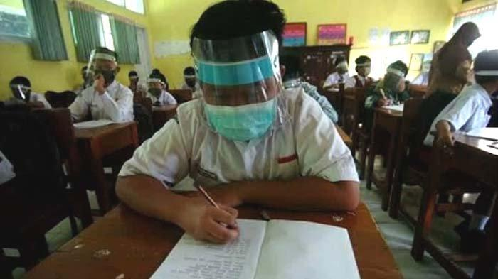 Sekolah di Tuban mulai Laksanakan Ujicoba Pembelajaran Tatap Muka, Pertimbangannya Dua Hal ini