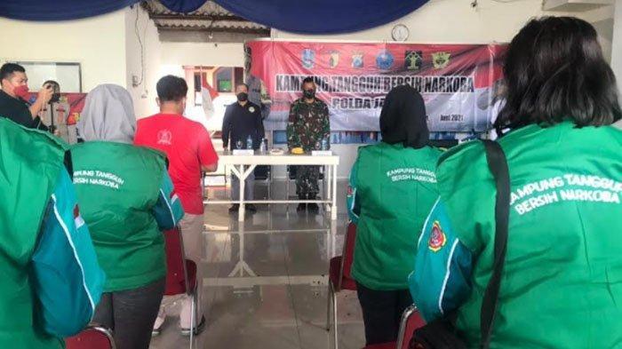 Polda Jatim Resmikan Kampung Tangguh Bersih Narkoba di Pepelegi Kabupaten Sidoarjo