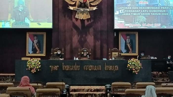 Pansus DPRD Jatim Keluarkan Sejumlah Rekomendasi,Merespons LKPJ Gubernur Akhir Tahun 2020
