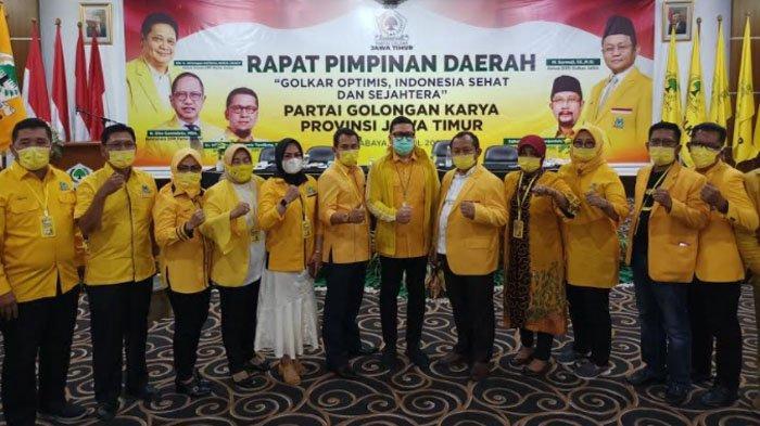 Golkar Jatim makin Getol Dorong Airlangga Hartarto Maju Pilpres 2024
