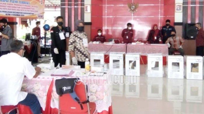 KPU Kota Blitar Lakukan Rekapitulasi Hasil Pemungutan Suara Pilkada Blitar 2020 di Kecamatan