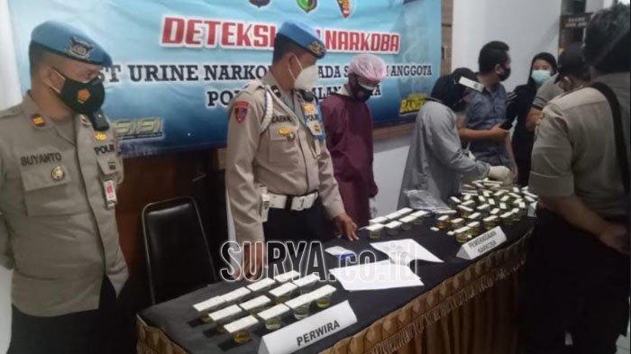 Antisipasi Penyalahgunaan Narkoba, Polresta Malang Kota Gelar Tes Urine