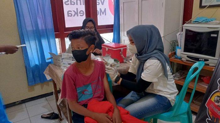 Polres Pamekasan Gencarkan Serbuan Vaksin terhadap Semua Kalangan, Ini Dua Lokasi Vaksin Gratis