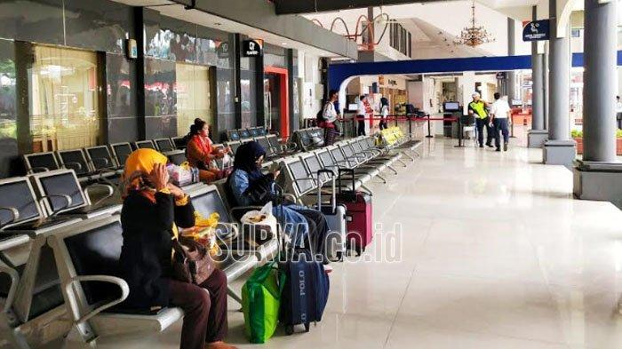 Cegah Virus Corona, KAI Daop 8 Surabaya Turunkan Kapasitas Daya Angkut KA Lokal