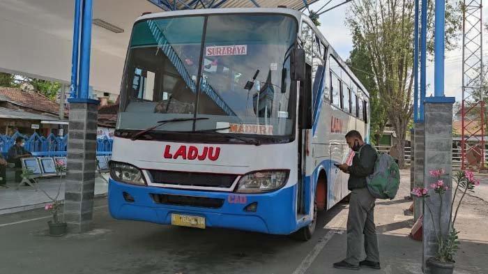 Alasan Satgas Covid Belum Skrining Kesehatan bagi Penumpang Bus Asal Madura di Terminal Bondowoso