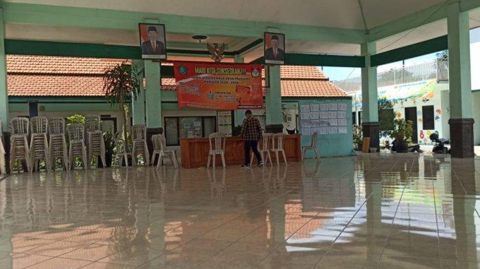 Pencuri Mobil  Operasional Desa Prasung Sidoarjo Sempat Diajak Bicara Penjaga Kantor Desa