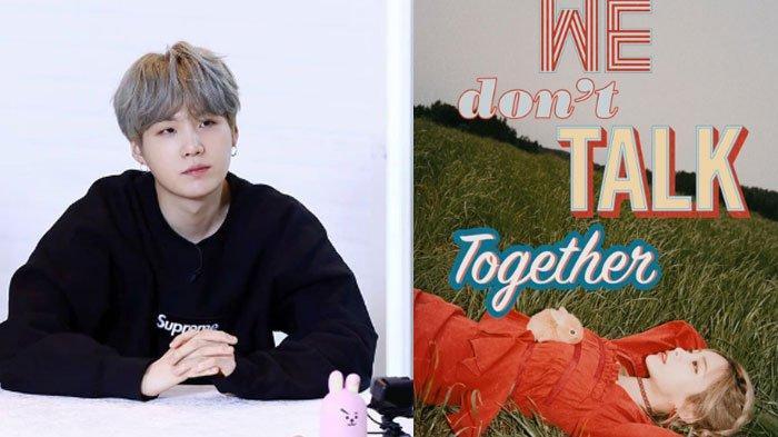 Suga BTS Produseri Lagu Baru Heize 'We Dont Talk Together', ARMY: IU Akan Rasakan Tangan MIN PD