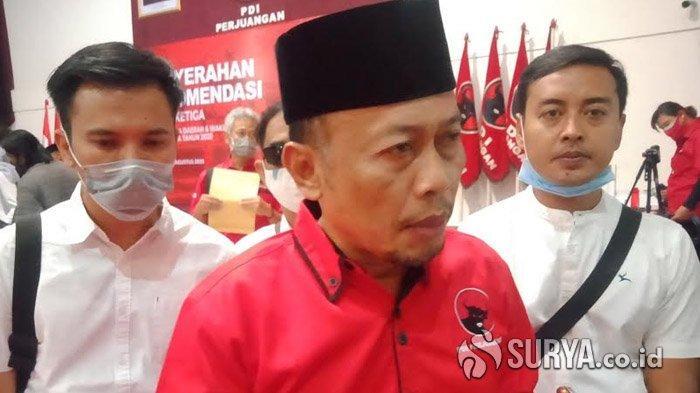 Sugiri Sancoko saat ditemui di Kantor DPD PDIP Jatim, di Surabaya.