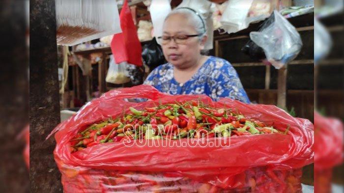 Harga Cabai Rawit di Kota Blitar Semakin Pedas, Kini Tembus Rp 100.000 Per Kilogram