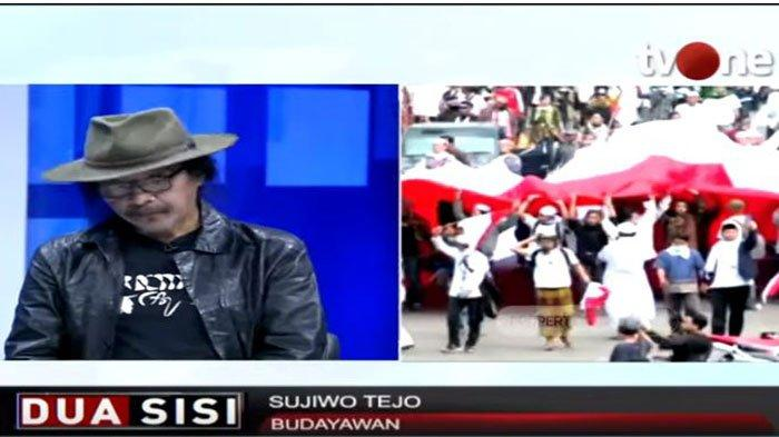 Sujiwo Tedjo Mengkritik Cara Pendukung Jokowi Rayakan Kemenangan, 'Bener neng Ora Pener,' Katanya