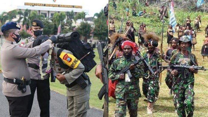 Sukses Lumpuhkan Pimpinan KKB Papua Puncak Jaya, 200 Brimob Polda Jatim Dapat Apresiasi dari Kapolda