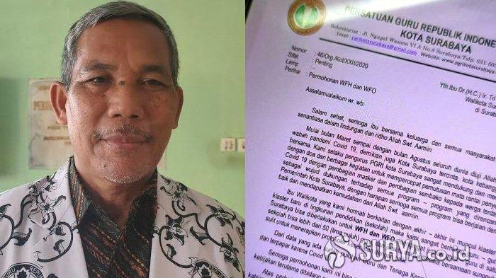 Banyak Tenaga Pendidik Meninggal Karena Covid-19, Guru di Surabaya Minta Kerja dari Rumah