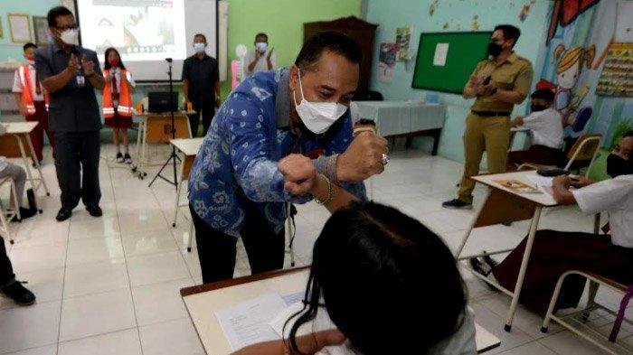 Kemenkes Beri Level 1, Mendagri Level 3; Surabaya Harus Pacu Capaian Vaksinasi Gresik-Sidoarjo