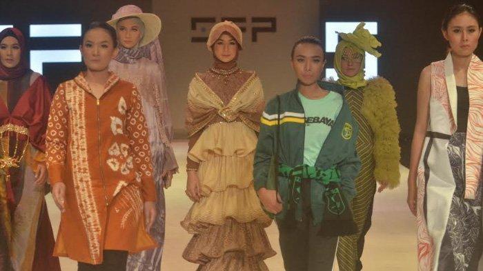Surabaya Fashion Parade, Tampilkan Ragam Busana dengan Mengusung Tema 'Fusione'
