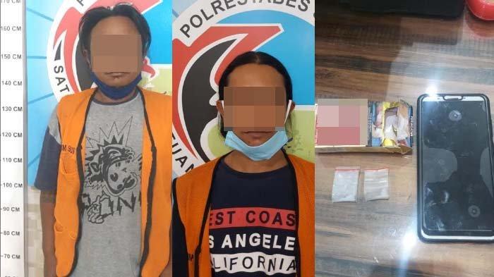 Pria di Surabaya Tak Sadar Dikuntit Polisi saat Beli Narkoba, Diringkus saat hendak Pesta Sabu