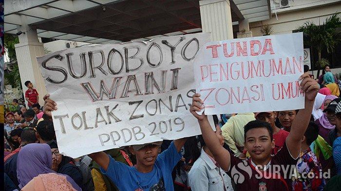 Keluhan Wali Murid tentang Sistem Zonasi PPDB 2019 Surabaya, 'Sudah Dobel Les, Malah Terlempar'