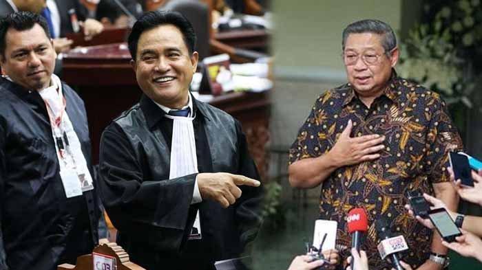 Yusril Bongkar Invisible Power Zaman SBY, Kini Tudingan Diarahkan Kubu AHY Saat JR AD/ART Demokrat