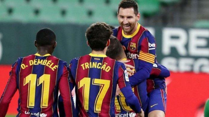 LIVE SCTV Susunan Pemain Barcelona vs PSG: Baru Pulih dari Cedera, Gerard Pique Jadi Starter