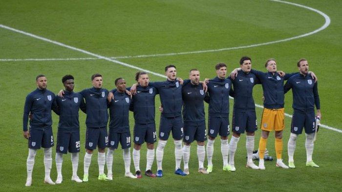 Susunan Pemain Italia vs Inggris  Final EURO 2020, The Three Lions Pasang 3 Bek Redam Gli Azzurri