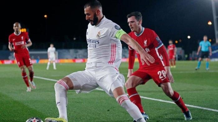 Real Madrid berhasil menyingkirkan Liverpool