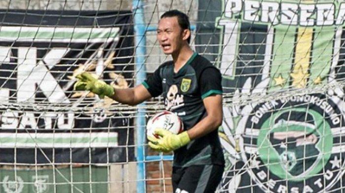 Performanya sempat Drop, Pelatih Kiper Persebaya Yakinkan Kondisi Rivky Siap untuk Timnas