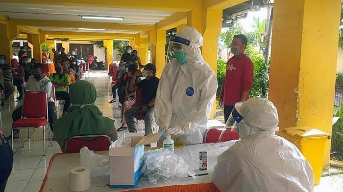 12 Penghuni Rusun Penjaringan Sari Dinyatakan Positif Covid-19, Pemkot Surabaya Gelar Swab Massal