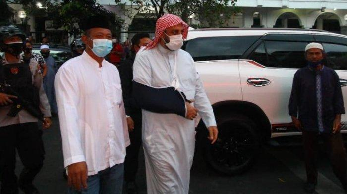 Datang ke Malang, Syekh Ali Jaber Minta Masyarakat Tak Terprovokasi Insiden Penusukan Dirinya