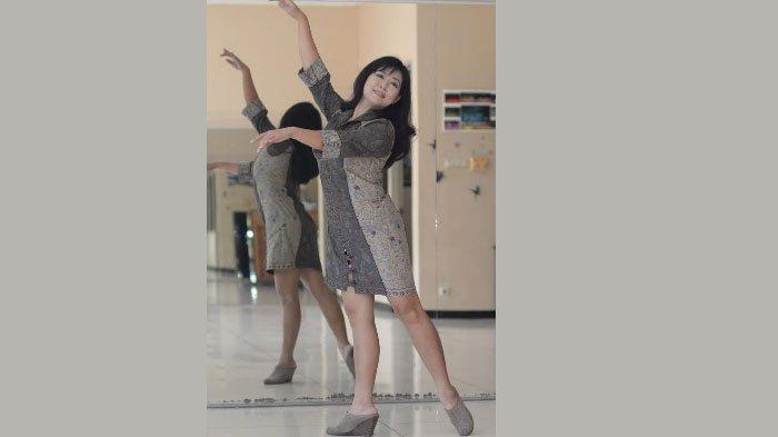 Potret Sylvi Panggawean: Kunci Sukses Pebalet adalah Disiplin Berlatih