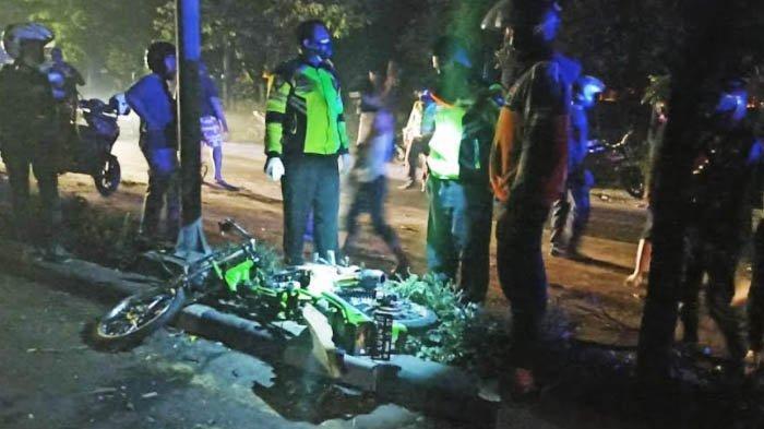 Motor Senggolan, 2 Pemuda Surabaya Tewas di Gedangan Sidoarjo