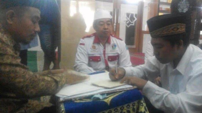 Gara-gara Narkoba, Novianto Terpaksa Akad Nikah di Tahanan Polres Jombang