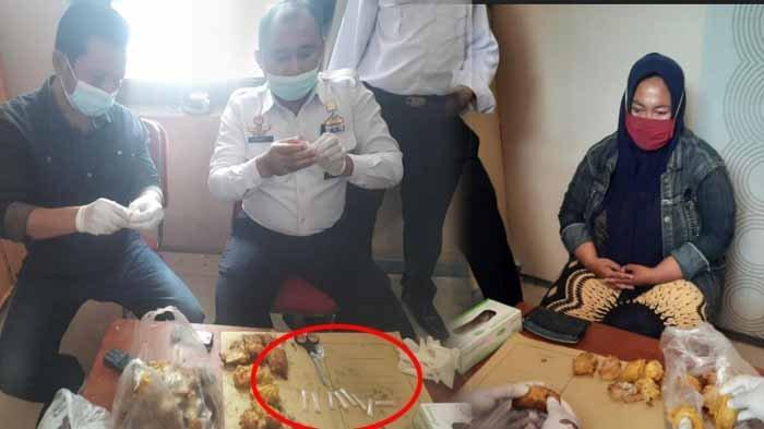 Ibu Asal Sidoarjo Kirim Tahu Goreng Isi Narkoba, Anaknya Bagian Menjual di Lapas Kelas IIB Mojokerto