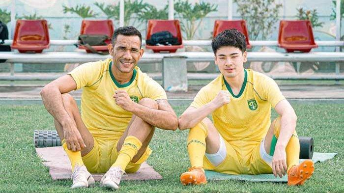 Taisei Marukawa dan Jose Wilkson Teixeira. Pemain Asing Persebaya Surabaya Lengkap Pertengahan Juni 2020 untuk Bermain di Liga 1