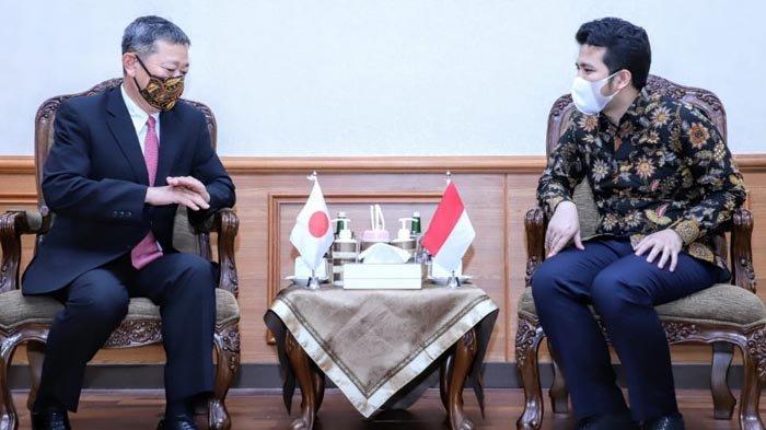 Terima Konjen Jepang, Wagub Emil Inginkan Kerja Sama Jepang dengan UMKM di Jatim Makin Kuat
