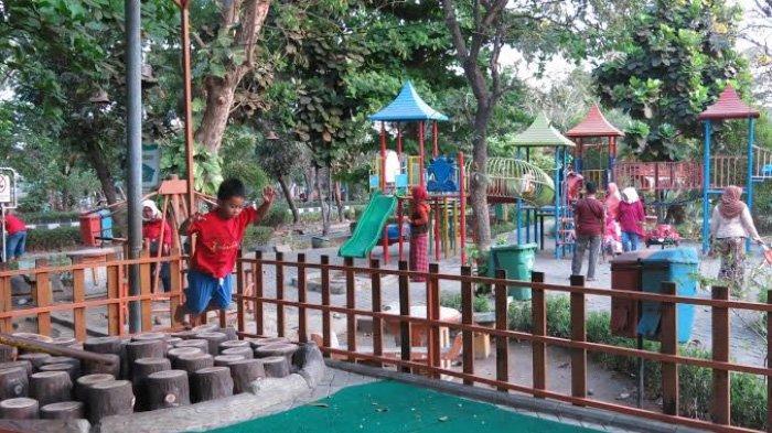 Taman Taman Di Sidoarjo Bakal Disulap Jadi Taman Tematik Surya