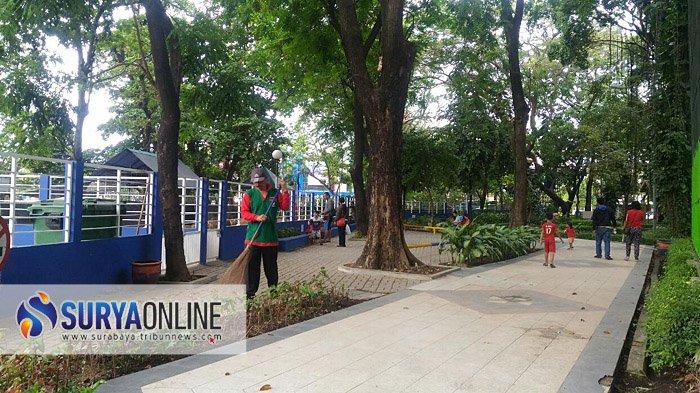 Asyik, Taman di Surabaya segera Dibuka kembali, Tahap Awal 8 Lokasi Ini