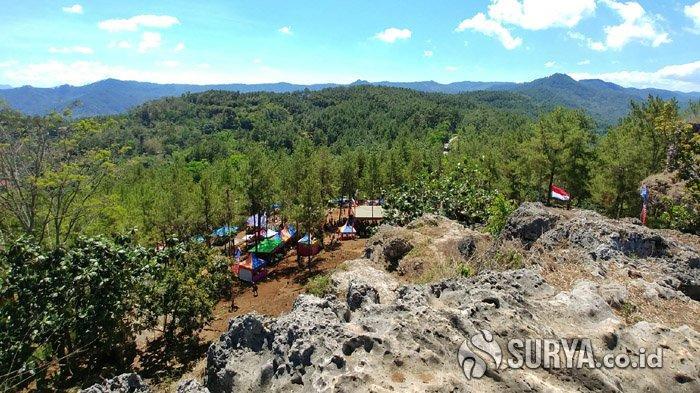 Trenggalek Kenalkan Taman Goa Biru, Menikmati Pesona Langit dan Hutan dari Ketinggian