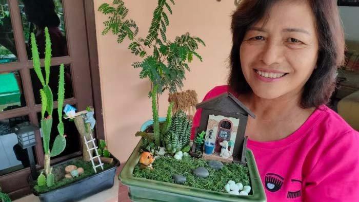 Taman Mini Buatan Ibu-ibu PKK RW 12 Rungkut Kidul Surabaya Terjual hingga Rp 500.000