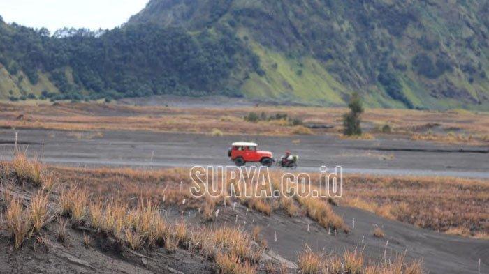 PPKM Level 3,  Empat Akses Masuk Kawasan Wisata Taman Nasional Bromo Tengger Semeru Ditutup