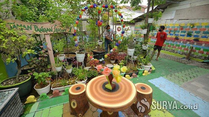 Ingin Jadi Jujugan Wisatawan, Warga Jetis Kulon Surabaya Percantik Wajah Kampung Seperti Ini