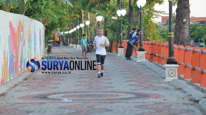 Pemkot Surabaya akan Maksimalkan Jogging Track dan Wisata Perahu di Taman Ngagel
