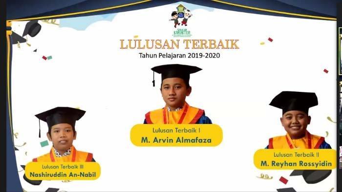 SD Muhammadiyah 24 Ketintang Surabaya Gelar Wisuda Virtual, Alasan Potensi Karakter Siswa Diumumkan