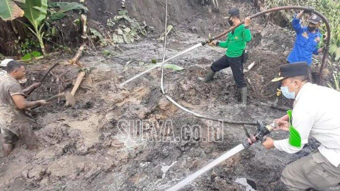 Hujan Deras Seharian, Tiga Desa di Kecamatan Watulimo Kabupaten Trenggalek Terdampak Bencana