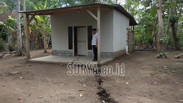 Update Terbaru Peristiwa Tanah Retak Trenggalek, Pemkab akan Bantu Rehabilitasi 16 Rumah yang Rusak